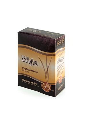 Травяная краска для волос Черный кофе, Aasha Herbals, 6*10гр.