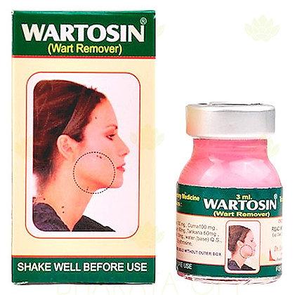 Wartosin средство для удаления папиллом и бородавок, 3мл.
