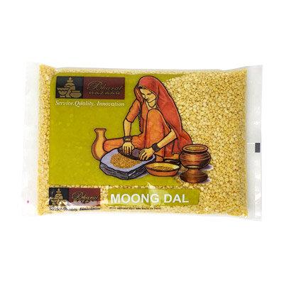 Маш желтый очищенный  Moong dal Bharat Bazaar, 500гр.