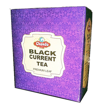 Чай аюрведический с Черной смородиной, Black Currant Tea  Chanda, 100гр.