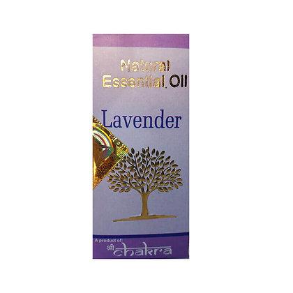 Эфирное натуральное масло Лаванда, Natural Essential Oil Lavander, 10мл.