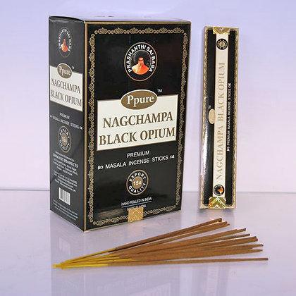 Благовония Ppure Black Opium, Черный опиум, 15гр.