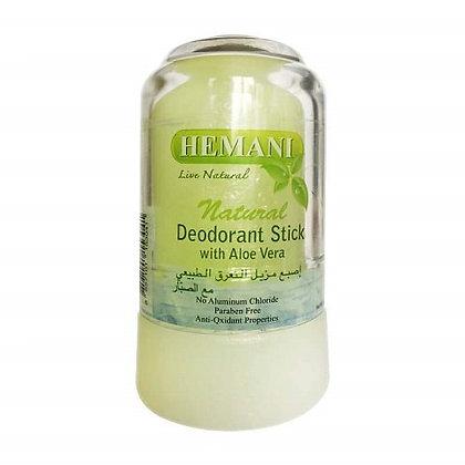 Натуральный минеральный дезодорант c Алоэ Вера Hemani, 70гр.
