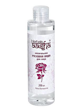Натуральная Розовая вода, Aasha Herbals, 200мл.