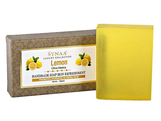 Мыло ручной работы Лимон, Synaa, 100гр.