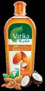 Масло для волос Миндаль Dabur Vatika, 200 мл.