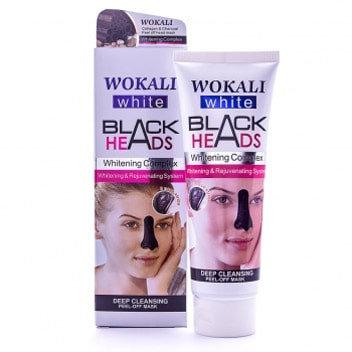 Маска-пленка для носа от черных точек Wokali Black Heads, 130мл