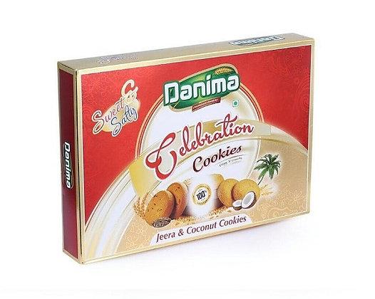 Печенье индийское с Кумином и кокосовой стружкой Данима, 300гр.
