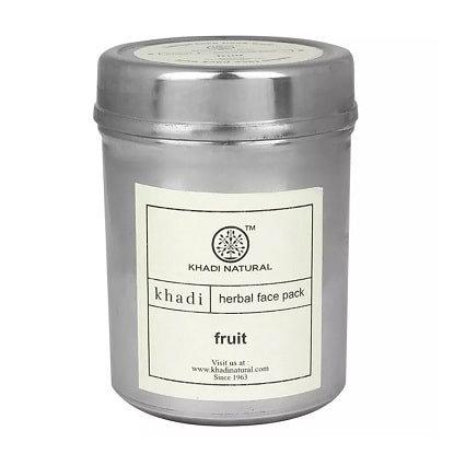Маска для лица Фрукты отбеливающая, легкий пилинг, Khadi Fruit, 50гр.