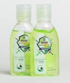 Антисептический гель для рук Hand Sanitizer, 50мл.