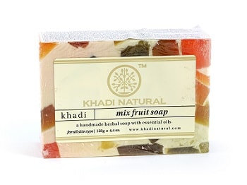 Мыло ручной работы Фруктовый Микс, Khadi Mix Fruit