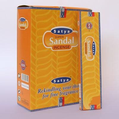 Благовония Супер сандал, Satya Super sandal, 90гр.