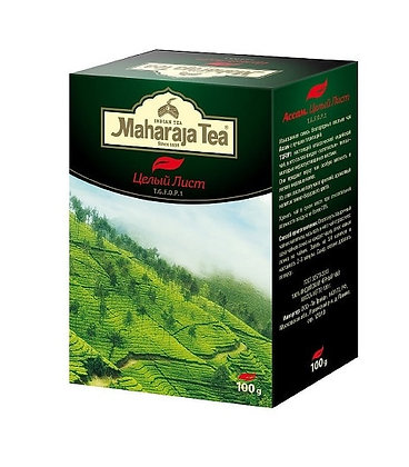 Чай индийский чёрный Ассам целый лист TGFOP1, 100гр.