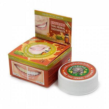 Тайская зубная паста с Экстрактом аниса, Binturong thai herbal, 33гр.