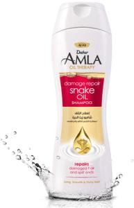 Крем-Шампунь для волос со змеиным маслом Dabur Amla , 200мл.