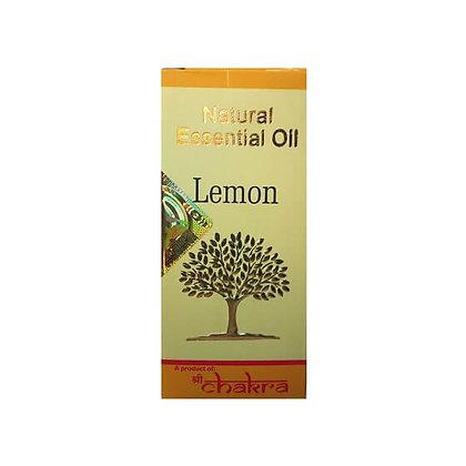 Эфирное натуральное масло Лимон, Natural Essential Oil Lemon, 10мл.