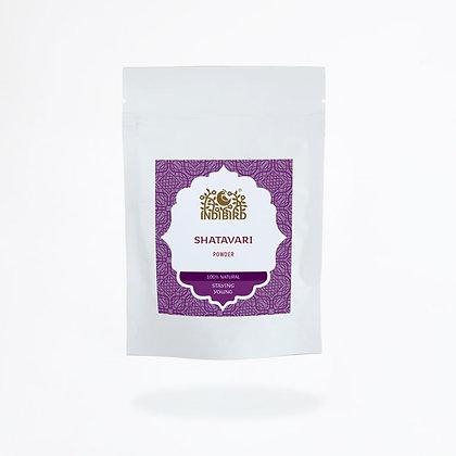 Порошок Шатавари, Indibird Shatavari Powder, 100гр.