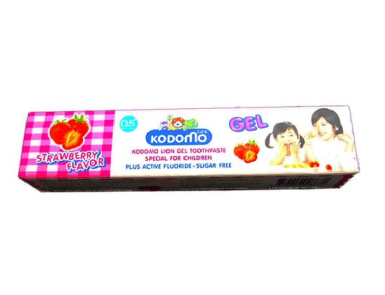 Тайская детская зубная паста-гель от 5месяцев, Kodomo Lion Gel Children, 40гр.