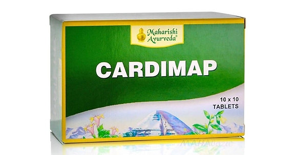 Препарат от гипертонии Кардимап Аюрведа, Cardimap Maharishi Ayurvedа, 100таб.