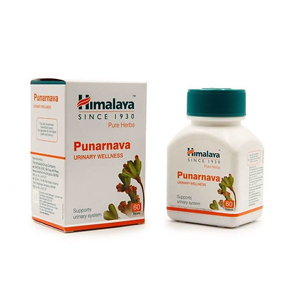 Пунарнава лечение мочеполовой системы, Punarnava Himalaya, 60таб.