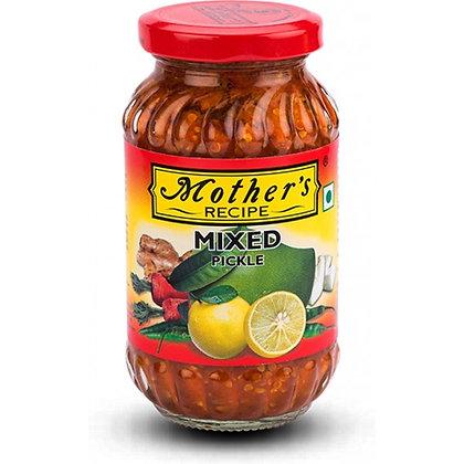 Пикули индийские смесь овощей Mother`s  recipe Mixed Pickle, 400гр.