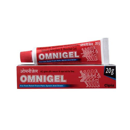 Гель для суставов обезболивающий Омнигель, Omnigel, 20гр