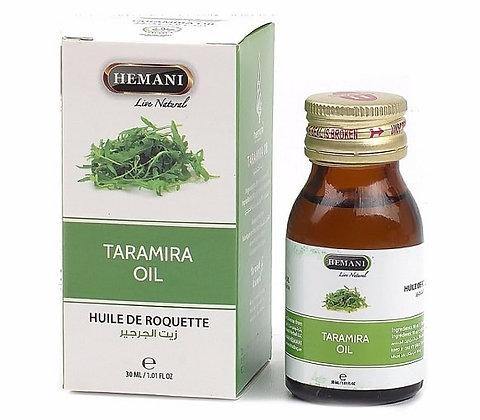 Масло листьев Усьмы, для роста ресниц и бровей, Taramira oil Hemani, 30мл.