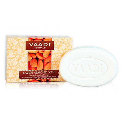 Мыло роскошный  Миндаль, Vaadi Lavish Almond Soap, 75гр.
