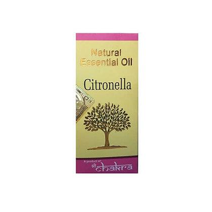 Эфирное натуральное масло Цитронелла, Natural Essential Oil Citronella, 10мл