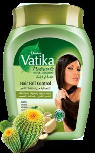 Маска для волос Контроль выпадения, Dabur Vatica, 500гр.