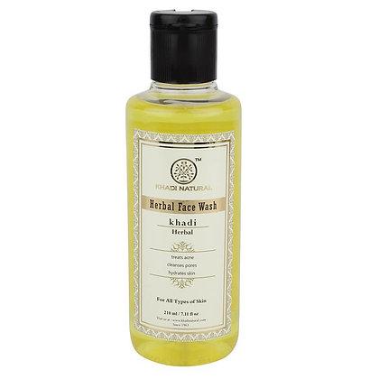 Гель для умывания Травяной Кхади для чувствительной кожи, Khadi, 210мл.