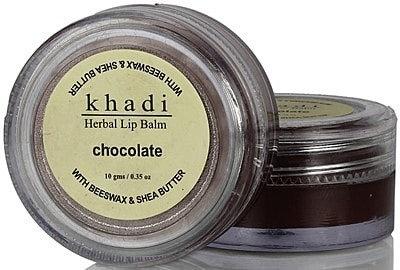 Бальзам для губ Khadi Шоколад с пчелиным воском и маслом Ши