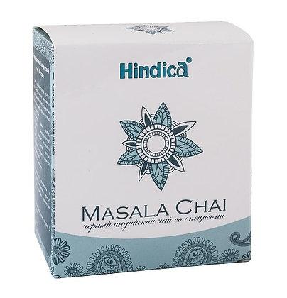 Черный индийский чай со специями Масала, Hindica Masala, 70гр