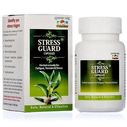 Стресс Гуард защита от стресса, Stress Guard Baidyanath, 60капс.