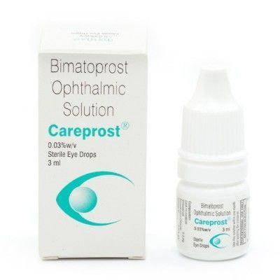 Карепрост для роста ресниц и бровей, Careprost Sun Pharma, 3 мл.