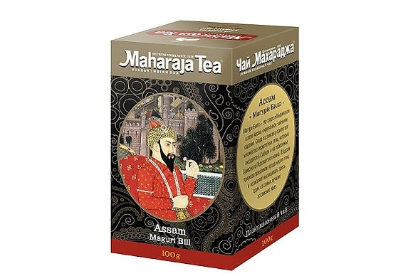 Чай Ассам Магури Билл,Maharaja Assam Maguri Bill, 100гр.