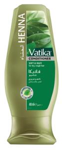 Кондиционер  для сухих и поврежденных волос Dabur Vatica Henna, 200мл.