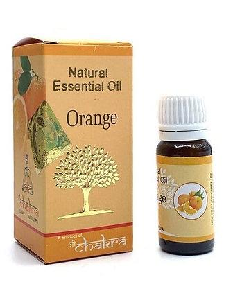 Эфирное натуральное масло Апельсин, Natural Essential Oil Orange, 10мл