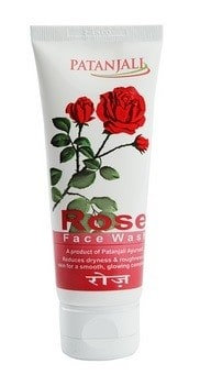 Гель для умывания лица Роза Патанджали, Patanjali Rose Face Wash, 60гр.