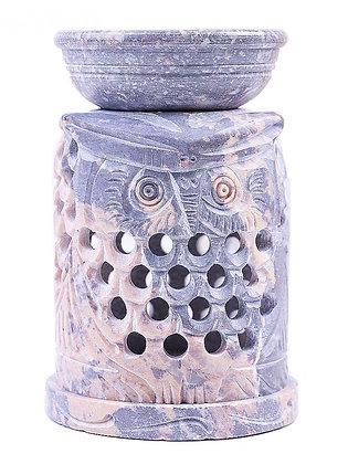 Аромалампа Камень Сова со съемной чашей