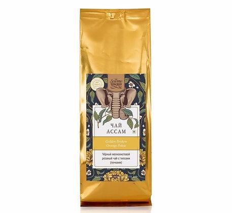 Чай чёрный мелколистовой резаный с типсами ASSAM GBOP Black Tea, 100 гр.