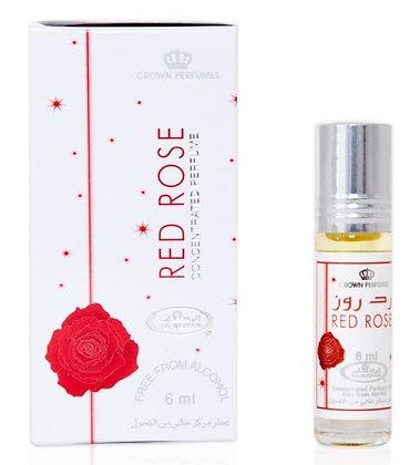 Арабские масляные духи Алая роза, Red rose Al Rehab, 6мл.