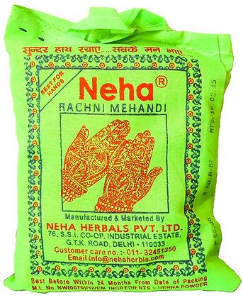 Хна Неха для мехенди (сухой порошок), Neha Rachni Mehandi Powder, 250гр.