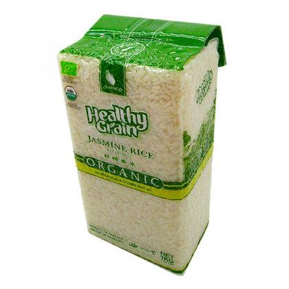 Рис Жасмин белый тайский органический,  Jasmine rice Sawat-D, 1кг.