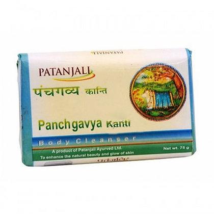 Мыло 5 даров Священной коровы Панчгавья, Panchgavya Kanti Patanjali, 75гр.