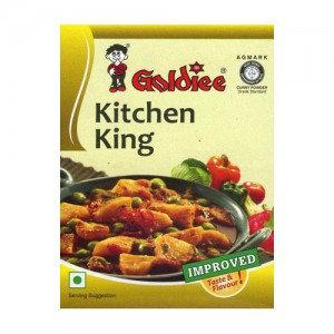 Приправа  Король Кухни Kitchen King Masala Goldiee, 100гр.