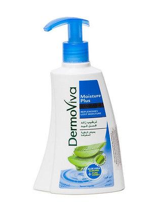 Жидкое мыло Увлажняющее, Dermoviva Moisture Plus 200мл