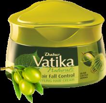 Крем для волос Контроль выпадения, Dabur Vatica, 140гр.
