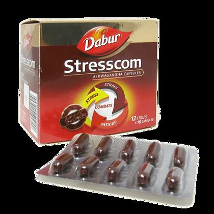 Стресском Ашвагандха Dabur Stresscom, 120капсул