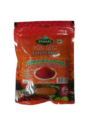 Кашмирский молотый красный перец, Kashmir Mirch Powder, 100гр.